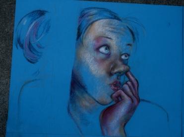 blueselfportraitcloseup