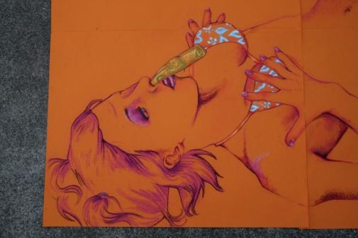 orangeselfportraitcloseup
